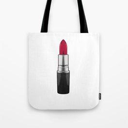 Lipstick Chic Wall Art Kiss Print Fashion Illustration MAKEUP PRINT Make Up Pink Lips Watercolor Pri Tote Bag