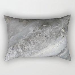 Frozen river Rectangular Pillow