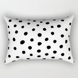 Painted Dots Rectangular Pillow