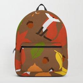 Fox Jumble - Brown Backpack