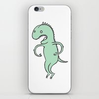 dino iPhone & iPod Skins featuring Dino by Vladimir Zaboronok