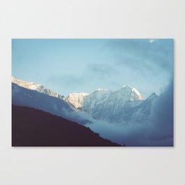 Himalayan mountains, Nepal Canvas Print