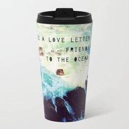 Love Letter to the Ocean Travel Mug