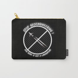 Stop Geoengineering Carry-All Pouch