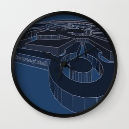 You are a pinball Wall Clock
