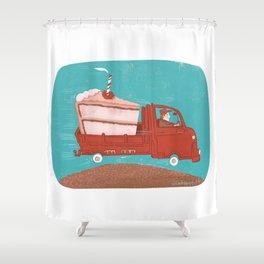 Crèmion Shower Curtain