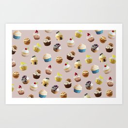 Cupcake royale Art Print