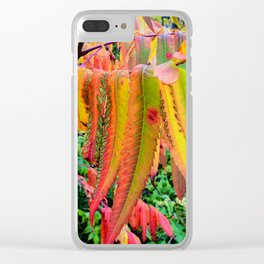 AUTUMN BRIGHTS Clear iPhone Case