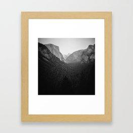 Yawning Tableau Framed Art Print
