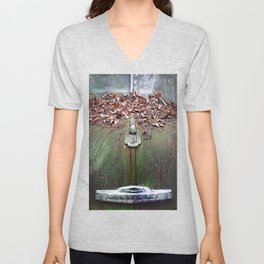 See The USA In Your Chevrolet Unisex V-Neck