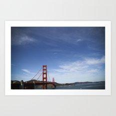 California (landscape) Art Print