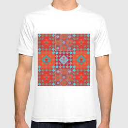 Indian patchwork 15 T-shirt
