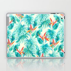 Tropical Paradise Pale Yellow Laptop & iPad Skin
