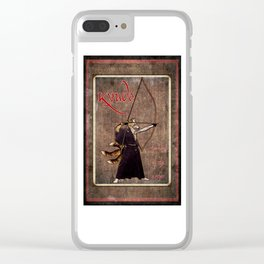 Kyudo: The Way of the Archer Clear iPhone Case