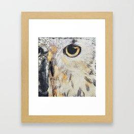 i see you Framed Art Print
