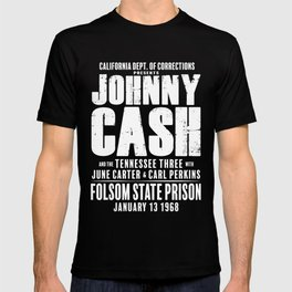 Johnny Cash at Folsom Prison T-shirt T-shirt