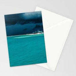 Maldivian storm 2 Stationery Cards