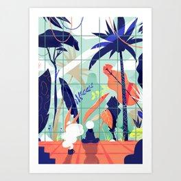 Living inside, dreaming outside. Art Print