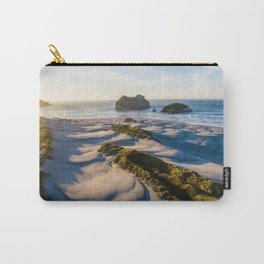 wharariki beach sunset sand dunes natural reserve Carry-All Pouch
