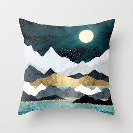 Ocean Stars Throw Pillow