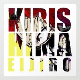 Kirishima in Impact Art Print