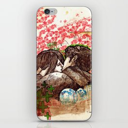 Spring that hasn't come yet iPhone Skin