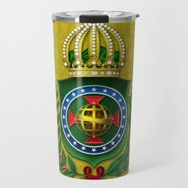 Dom Pedro II Coat of Arms Travel Mug