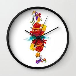 El Baile De Las Quimeras Wall Clock