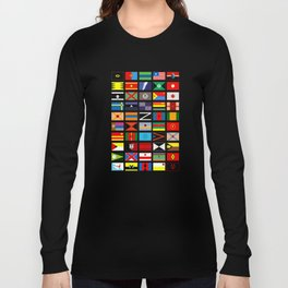 SH as flags Long Sleeve T-shirt