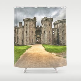 Gateway To The Castle Shower Curtain