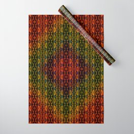 Kaleidescape Pattern Wrapping Paper