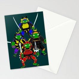 Turtles in armor fan art Stationery Cards
