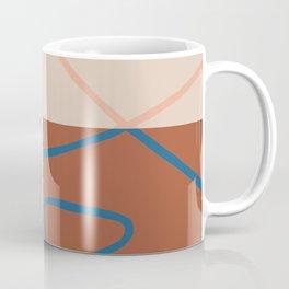 Terracotta Line Art Coffee Mug