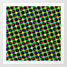 COLORFUL DOT Art Print