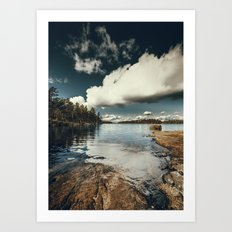 Belle Svezia Art Print