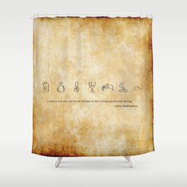 Horcruxes Shower Curtain