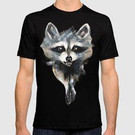 Raccoon stealing seeds! T-shirt