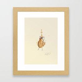 #coffeemonsters 19 Framed Art Print