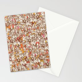 Victorian Crowd Stationery Cards