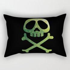 Corsaire green colors urban fashion culture Jacob's 1968 Paris Rectangular Pillow