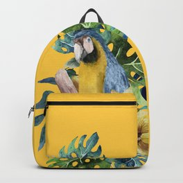 Macaw Parrot Backpack
