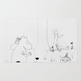 Moomin Love Rug