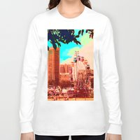 ferris wheel Long Sleeve T-shirts featuring Baltimore Ferris Wheel by kpatron