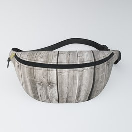 Old wood wall Fanny Pack