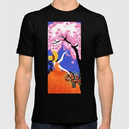 A Southern Belle In The Garden T-shirt
