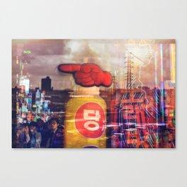 television sky Canvas Print