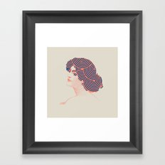 Hair Framed Art Print