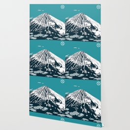Mount Fuji from the Sky Wallpaper