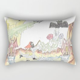 Santos Zapatos (Dreamscape) Rectangular Pillow