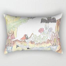 Santos Zapatos (Dreamscape) Rectangular Pillow